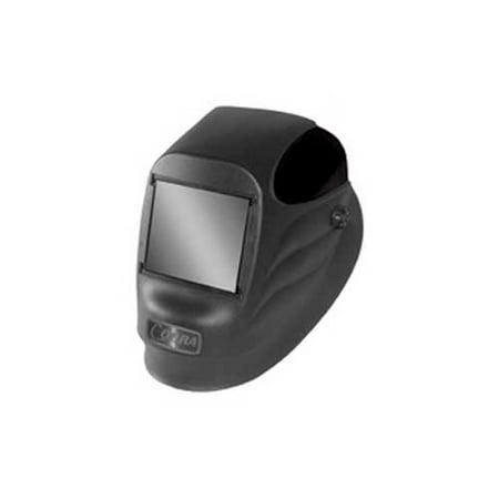 Radnor Black 24P Fixed Front Welding Helmet With 2'' X 4 1/4'' Shade 10 Passive (Best Passive Welding Lens)