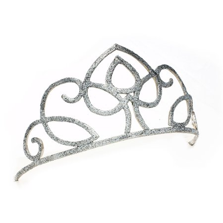 Sunnywood Little Queen Glitter Tiara Adult Costume Accessory
