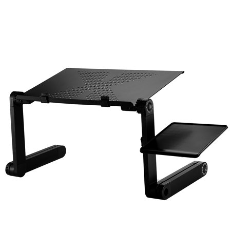 360°Adjustable Laptop Table Stand Foldable Laptop Table Desk for Bed Sofa Standing Desk Portable Bed TrayAdjustable Laptop Table Foldable Standing Desk Portable Bed Tray ()