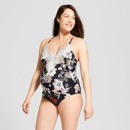 862f576b2e723 Sea Angel - Sea Angel Maternity One Piece Swimsuit (M) - Walmart.com