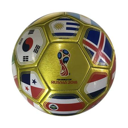 FIFA 2018 World Cup Russia Souvenir Soccer Ball - Walmart.com 2ce09e318833