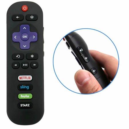 New Smart TV Remote Control for TCL ROKU HDTV with HULU Netflix Sling Starz APP Keys 2S301 50FS3800 32S3750 32S3800 32S4610R