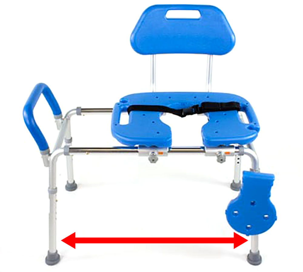 Platinum Health HydroGlyde Premium Sliding Bath Transfer Bench ...