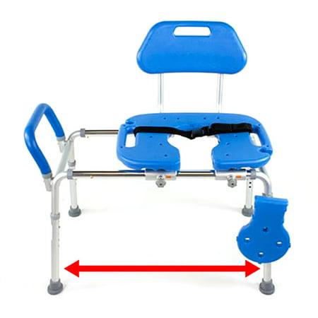 Platinum Health HydroGlyde Premium Sliding Bath Transfer Bench / Shower Chair](Baby Shower Chairs For Sale)