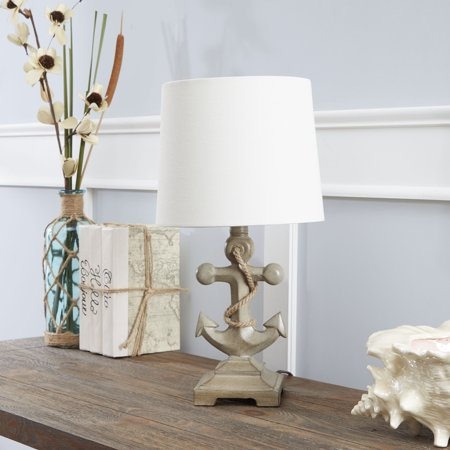 Anchors Away Lamp (Better Homes and Gardens Anchor Driftwood Accent Table)