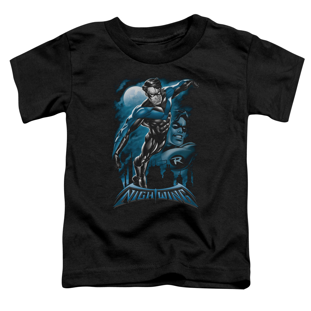 Batman/All Grown Up   S/S Toddler Tee   Black      Bm2220
