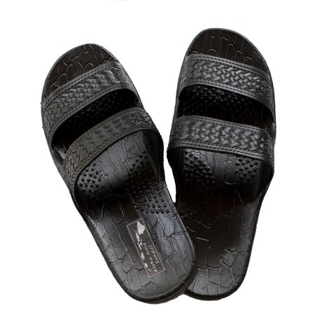 3c7ab6dcd643d2 Aloha Aina Sandals - Hawaii Brown or Black Jesus sandal Slipper for Men  Women and Teen Classic Style (10