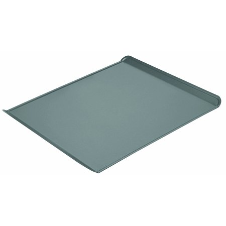 Professional Non-Stick Cookie Sheet, 14-Inch-by-13.75-Inch, Non-stick large cookie sheet with 2 turned up edges for ease of use; measures 15-3/4 by.., By Chicago (Chicago Metallic Non Stick Large Tortilla Shell Pans)
