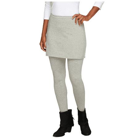 Legacy Cotton Ankle Length Skirted Leggings - Skirted Legging