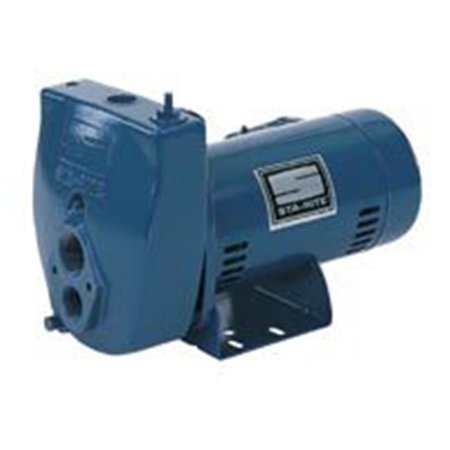 Sta Rite Centrifugal Pump (Sta-Rite ProJet SLC-L Jet Pump, 115/230 V, 9.9/4.9 A, 1-1/4 in Suction, 1 in Discharge NPT)