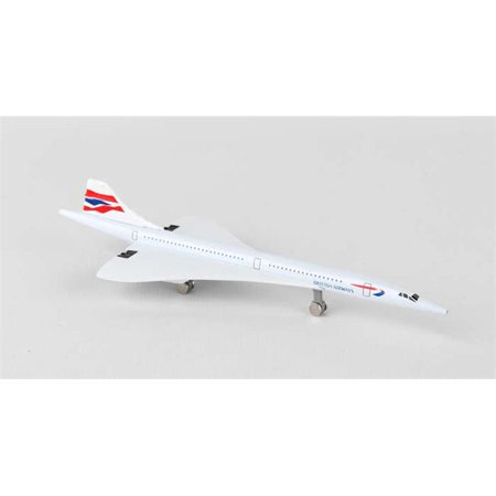 Concorde Aircraft - Daron British Airways Concorde Diecast Model Replica Airplane