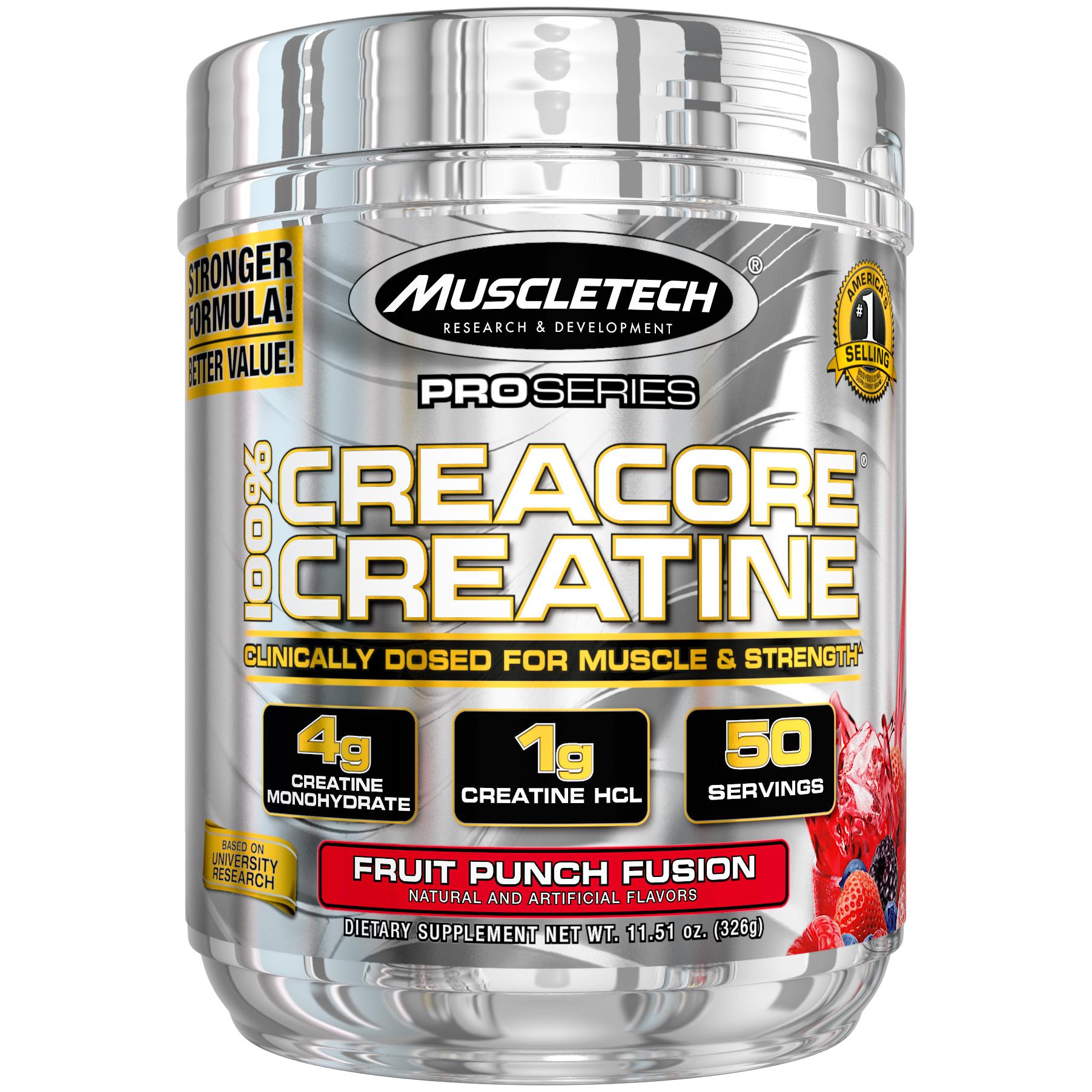 MuscleTech Cell Tech, Creatine Powder, Fruit Punch, 50 Servings