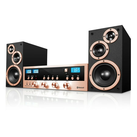 Innovative Technology 50 Watt Classic CD Stereo with Bluetooth ()