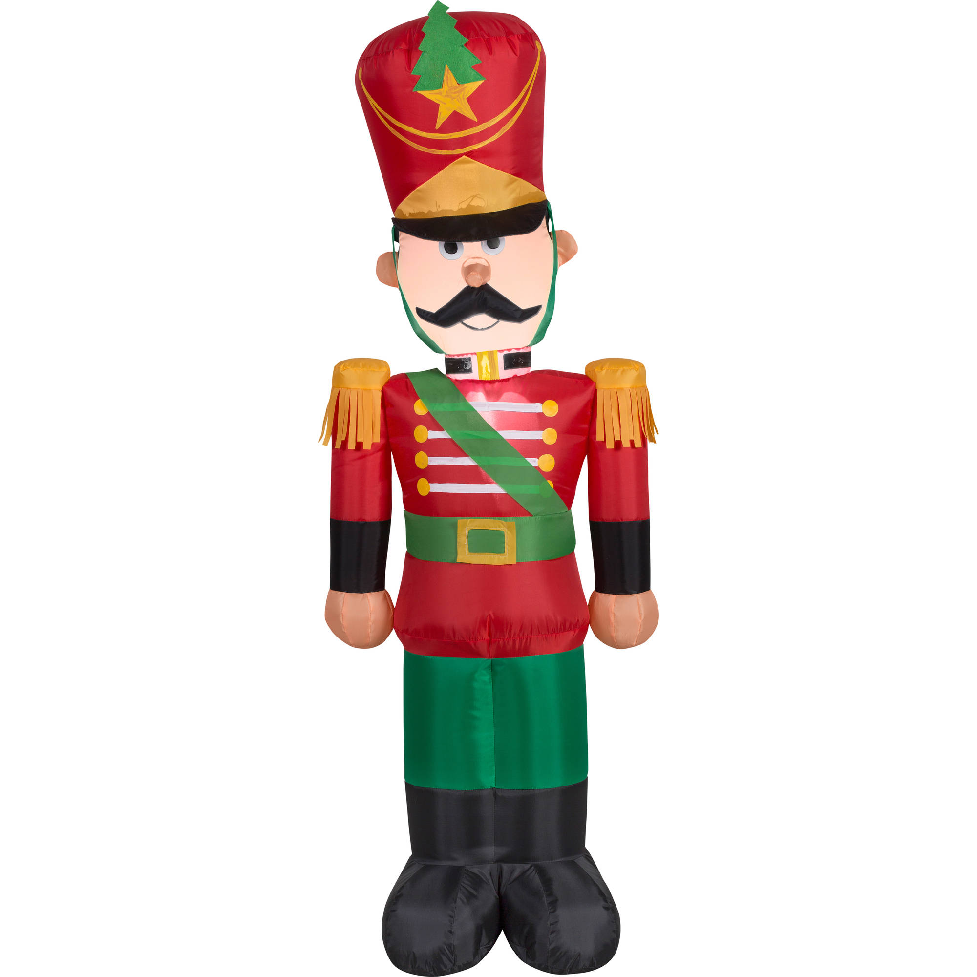 4\' Airblown Inflatable Toy Soldier Christmas Inflatable - Walmart.com
