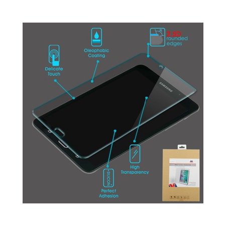 63c78f368a7 Samsung Galaxy Tab E 8 Screen Protector, by Insten Clear Tempered Glass  Screen Protector LCD ...