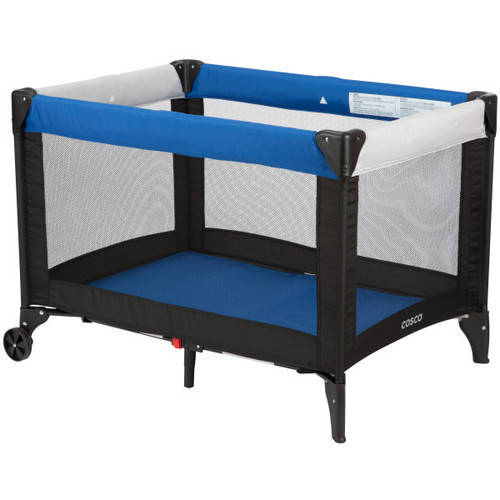 Cosco Funsport Play Yard, Colorblock Surf the Web Blue