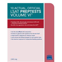 10 Actual, Official LSAT Preptests: 10 Actual, Official LSAT Preptests Volume VI: (preptests 72-81) (Paperback)