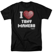 Saturday Night Fever I Heart Tony Mens Short Sleeve Shirt