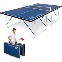 EastPoint Sports Easy Setup Fold N Store 12mm Tennis Table