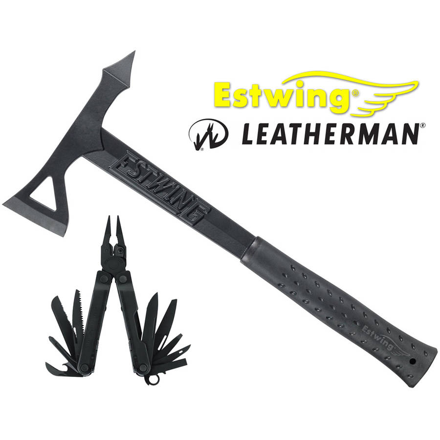 Estwing EB-REBARC Tomahawk and Leatherman REBAR Multi-Tool Pro-Pack