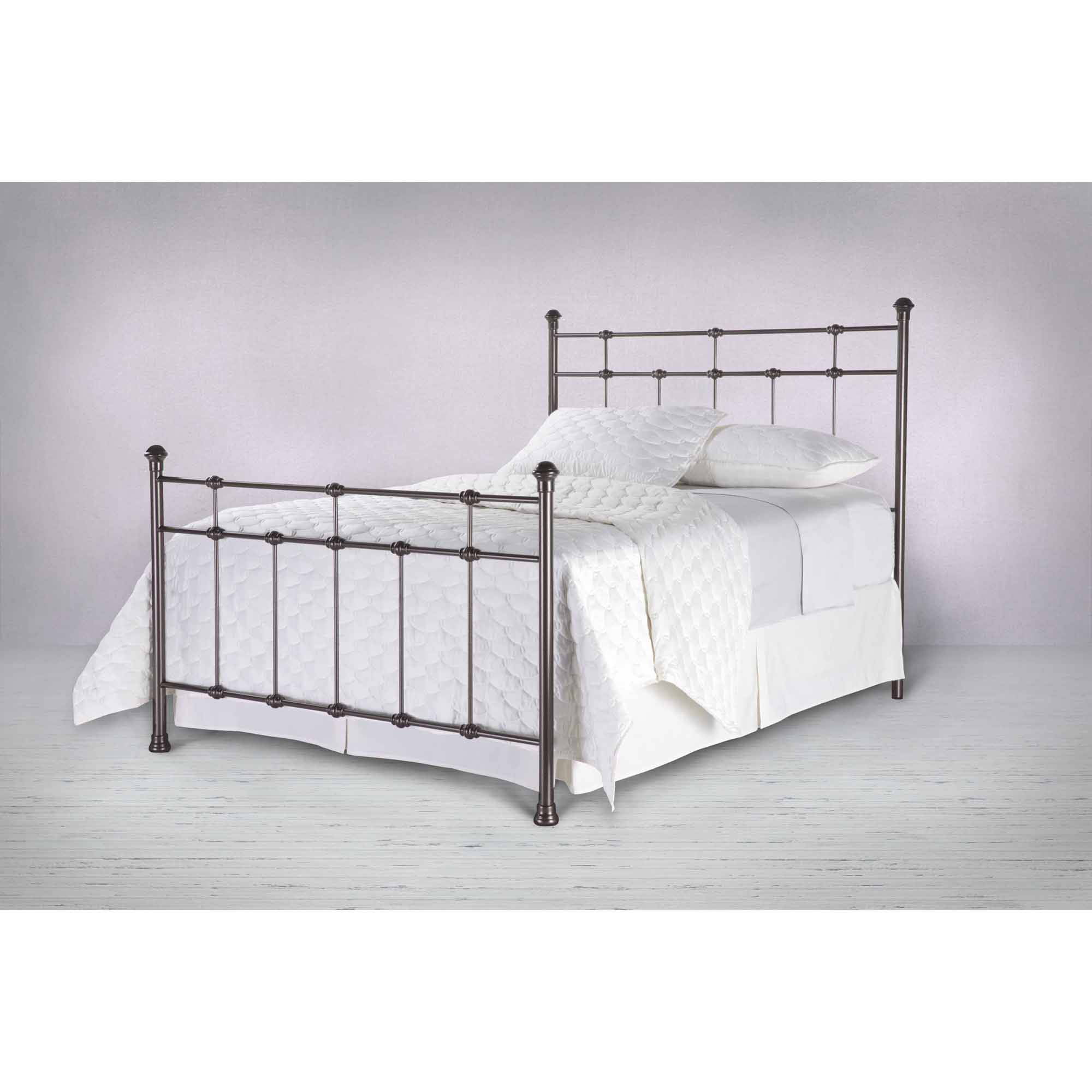 Fashion Bed Group by Leggett & Platt Dexter Metal Hammered Brown Headboard, Multiple Sizes by Fashion Bed Group