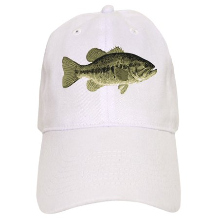 CafePress - Largemouth Bass - Printed Adjustable Baseball Cap
