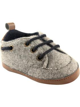 Luvable Friends Newborn Baby Boys Wooly Sneaker