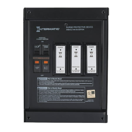 - Intermatic IG2240-IMSK Smart Guard® Whole Home Surge Protection Device with Consumable Modules