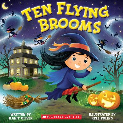 Ten Flying Brooms (Paperback)](Jeremy Kyle Halloween)