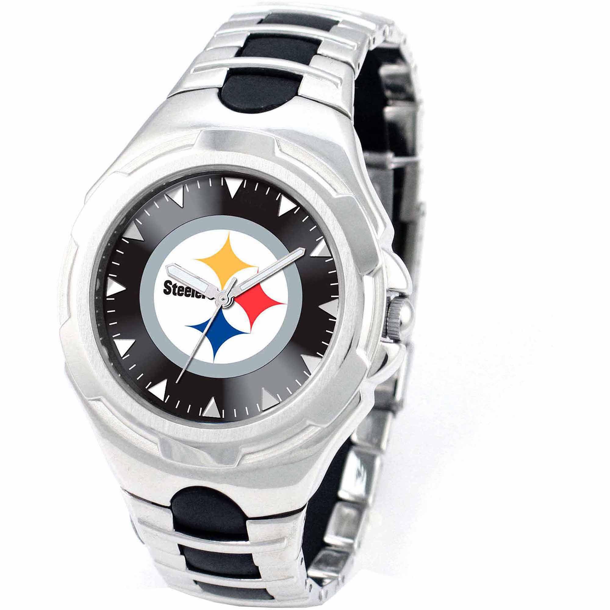 """Pittsburgh Steelers NFL Mens """"Victory Series"""" Watch"""