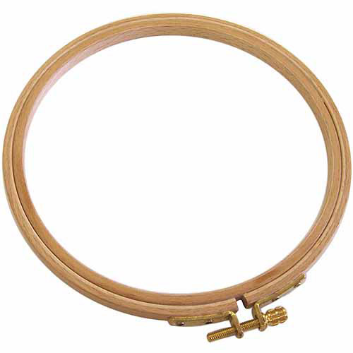Edmunds German Hand Or Machine Embroidery Hoop, 4""