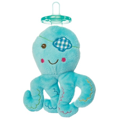 WubbaNub Baby Buccanneer Octopus Pacifier - Mary Meyer Limited Edition