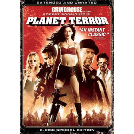 Planet Terror (DVD) - Terror Eyes Halloween Dvd