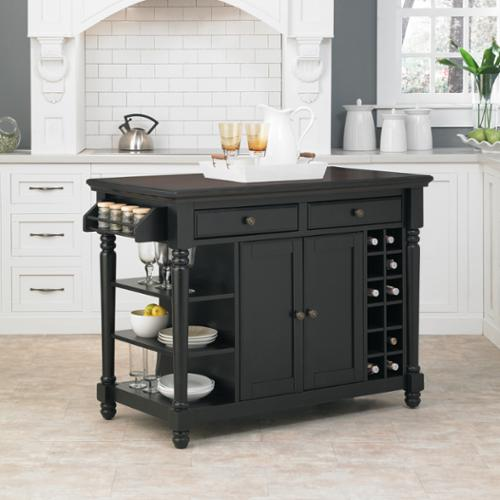kitchen images with islands home styles grand torino black and rustic cherry kitchen 4956