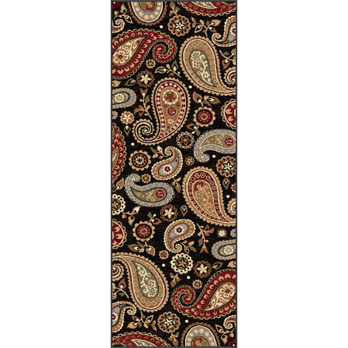 astoria grand barbarra black area rug. Black Bedroom Furniture Sets. Home Design Ideas