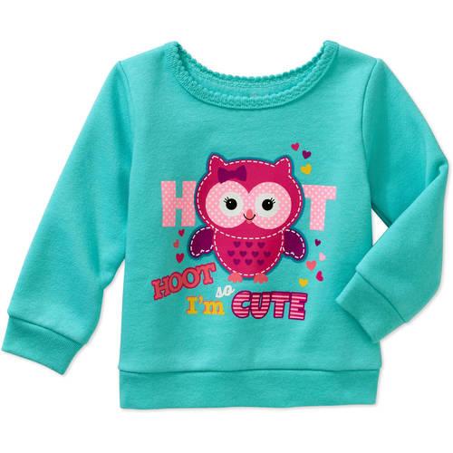 Garanimals Baby Girl Graphic Sweatshirt