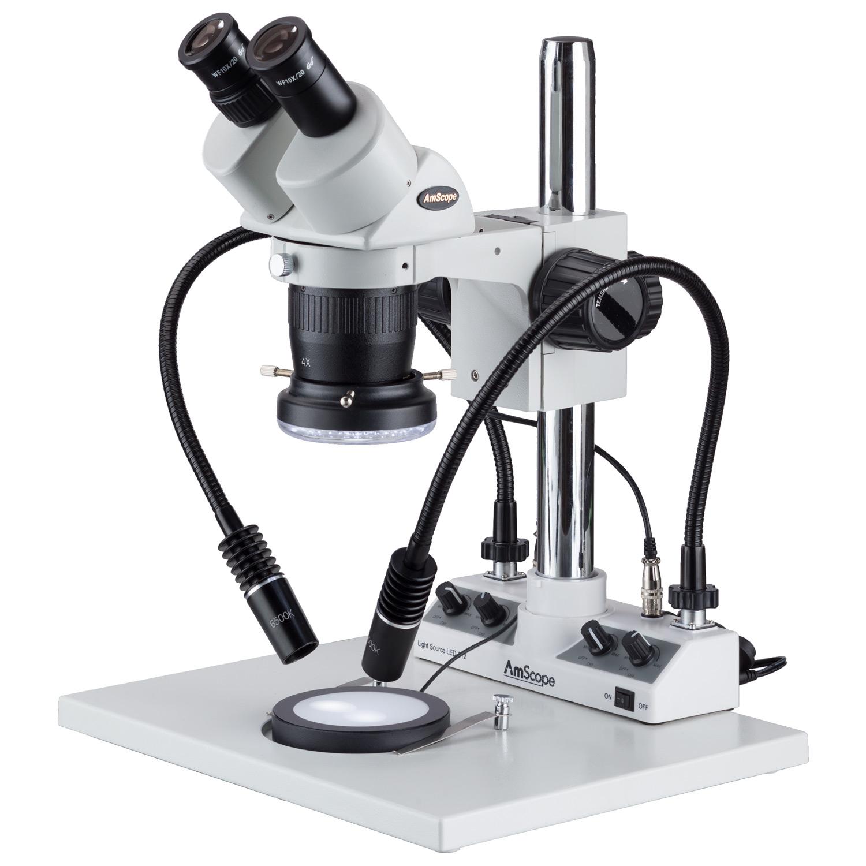 AmScope 20x-40x Super Widefield Stereo Binocular Microsco...