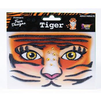 FACE DESIGNS-TIGER](Tiger Makeup Tutorial Halloween)