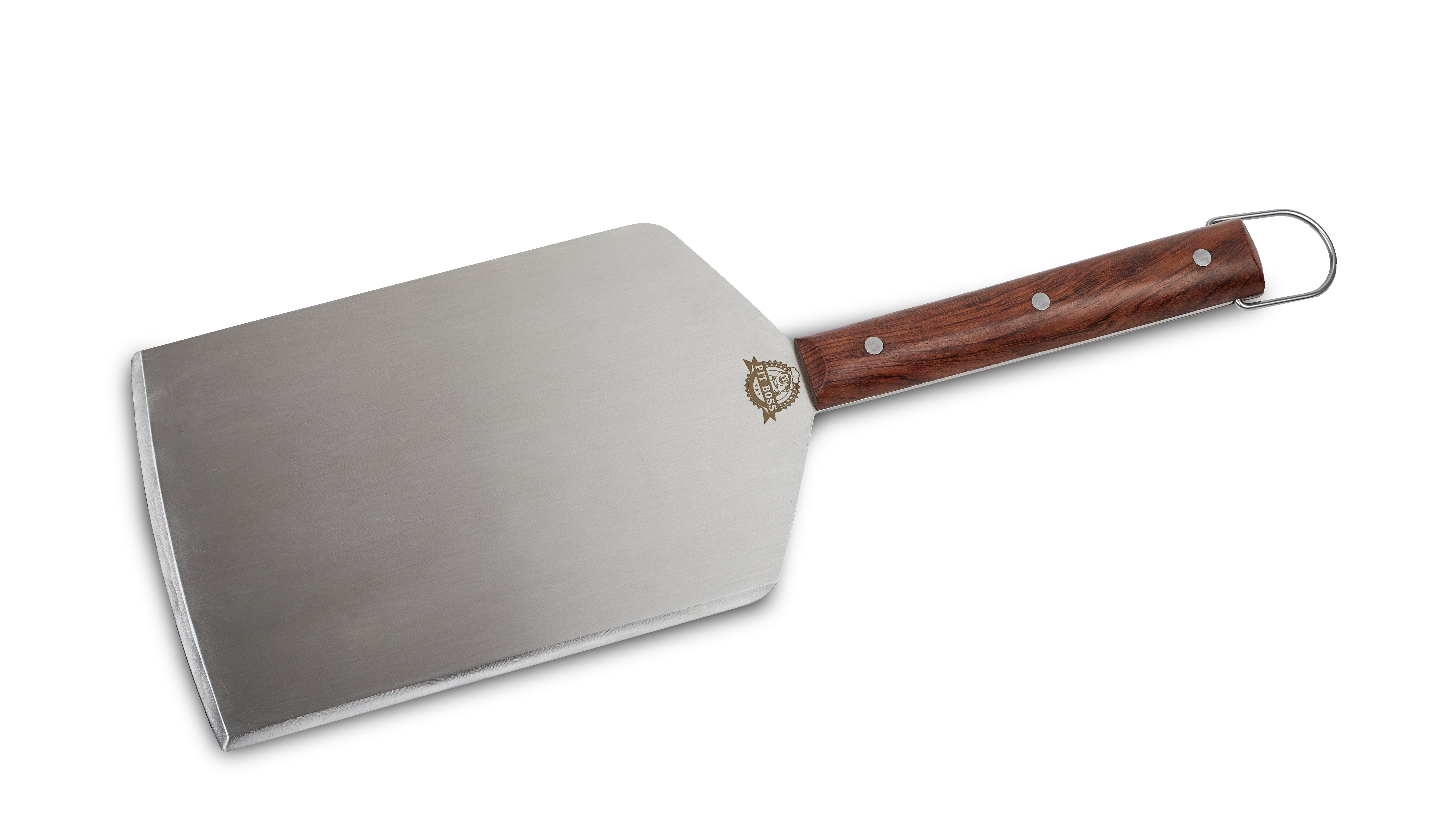 Pit Boss Large Cut BBQ Grill Spatula - Stainless Steel w/ Rosewood Handle