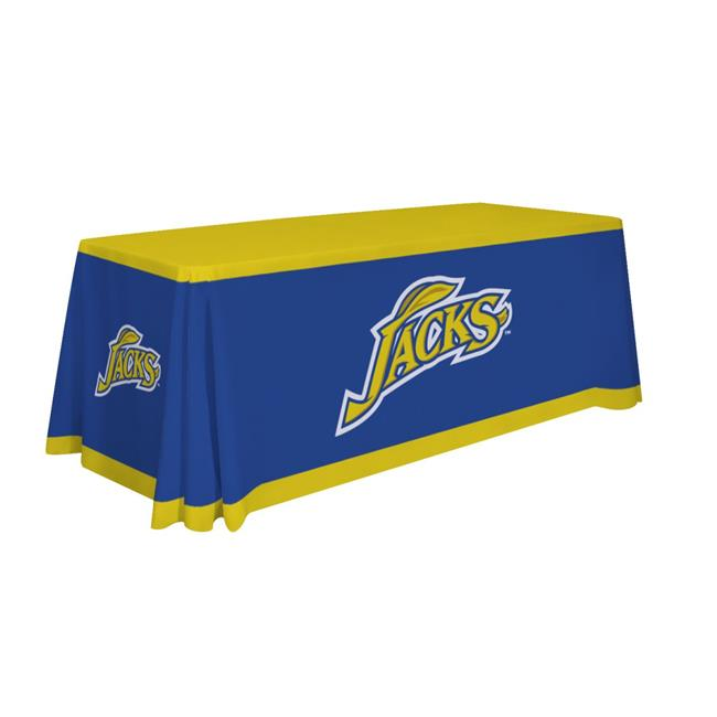 Victory Corps 810026SDS-001 6 ft. NCAA South Dakota State Jackrabbits Dye Sublimated Table Throw - No.001