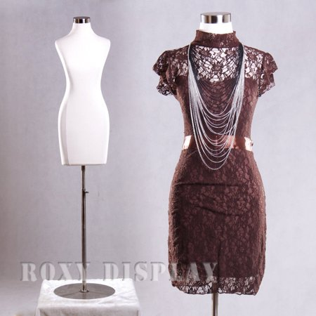 - Female Jersey Form Mannequin Dress Form Display #F01C+BS-04