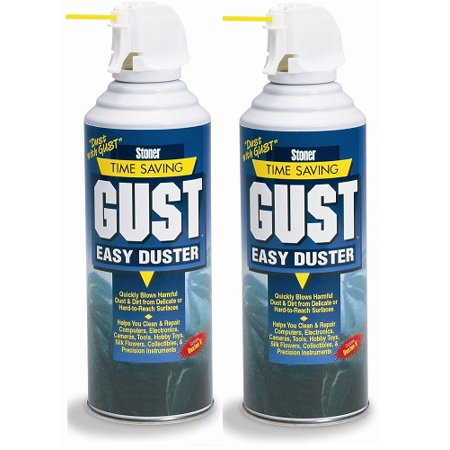 stoner 94203 gust easy air duster 12 oz 2 pack. Black Bedroom Furniture Sets. Home Design Ideas