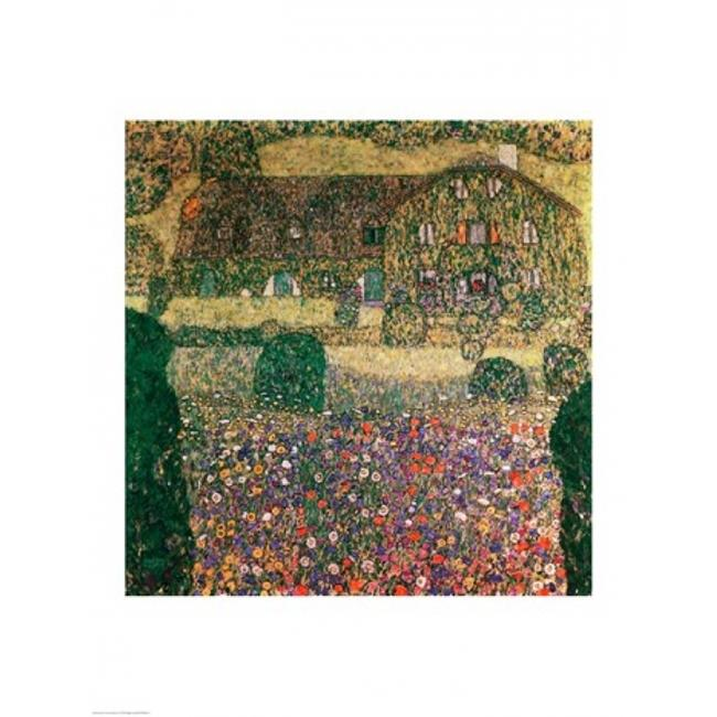 Posterazzi BALXAM68627LARGE Country House by The Attersee C.1914 Poster Print by Gustav Klimt - 24 x 36 in. - Large - image 1 of 1