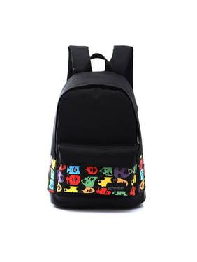 27bdd411594f Product Image Girls Boys Unisex Canvas Rucksack Backpack School Book  Shoulder Bag