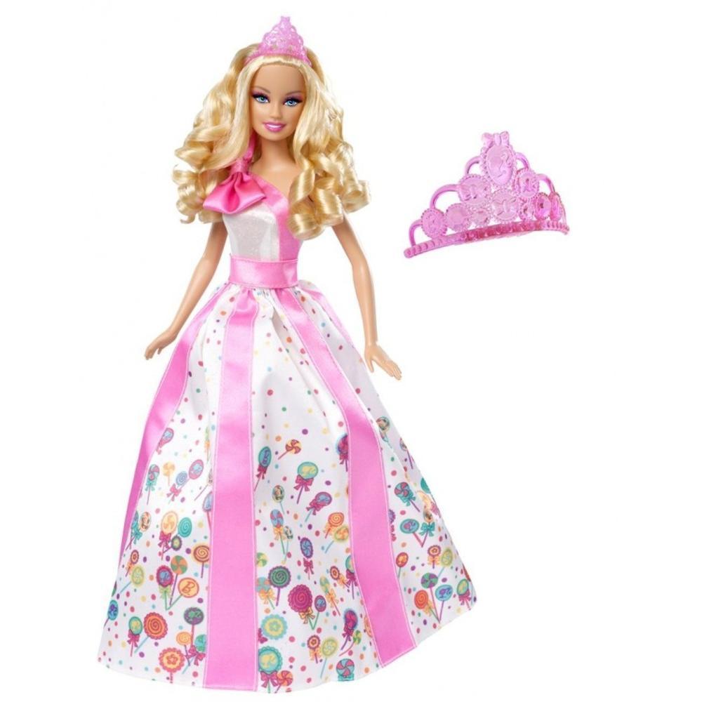 Barbie Princess Happy Birthday Doll with Tiara by Mattel