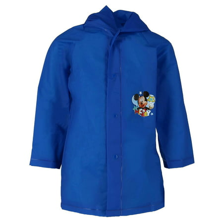 Kid's Mickey Mouse and Friends Rain Coat,  (Cartoon Raincoat)