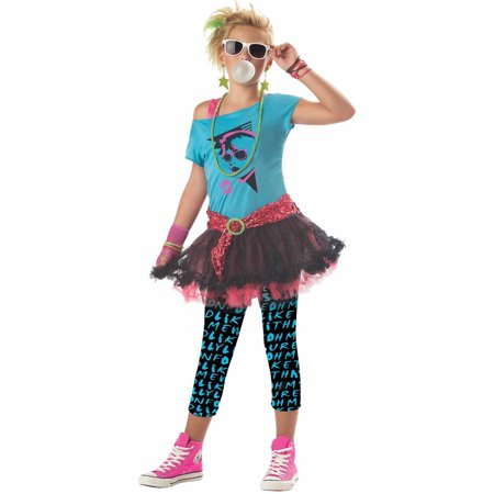 '80s Valley Girl Teen Halloween Costume - Popular Halloween Costumes In The 80s
