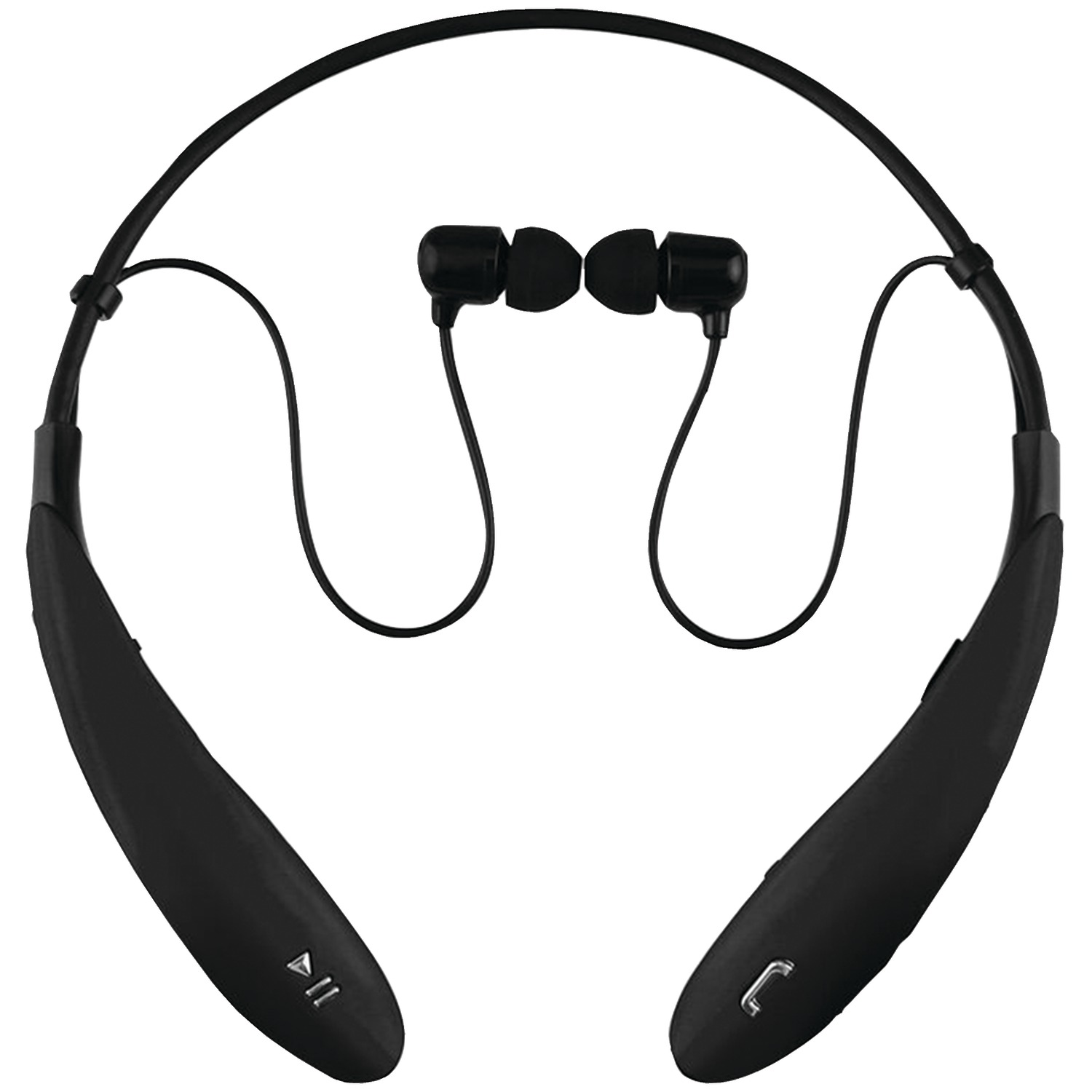 Supersonic IQ-127BT BLACK IQ-127 Bluetooth Headphones with Microphone (Black)