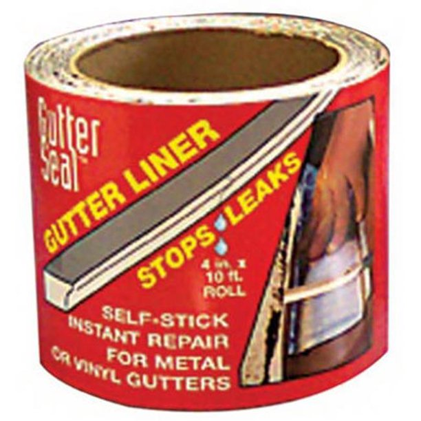 Cofair Products Gl 410 4 In X 10 Ft Gutter Seal Roll Walmart Com Walmart Com