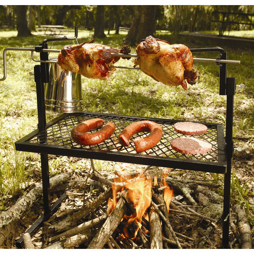Texsport Rotisserie Grill and Spit Camping Cookware